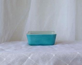FLAT fridge - PYREX - Refrigerator dish / blue / primary colors Collection