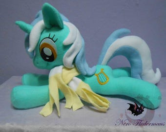 My Little Pony  laying fanmade plushie (choose your favorite)