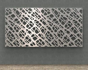 Abstract Metal wall art - Home decor - Modernize Sculpture