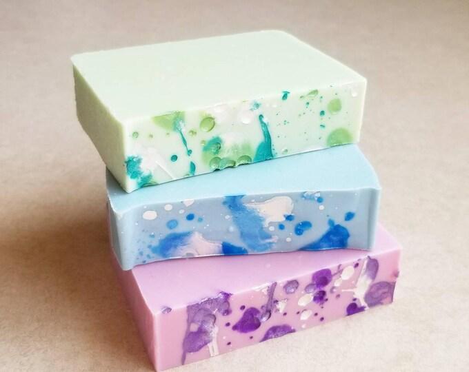 Mood Soap Cold Processed Handmade Silk Soap
