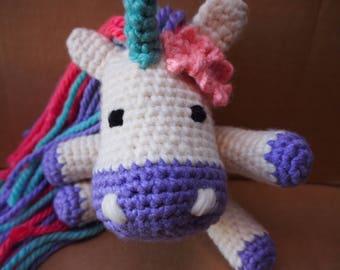 Unicorn Amigurumi | Stuffed Toy