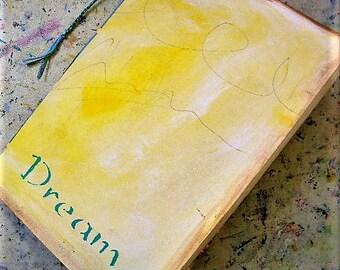 art journal, blank journal, handmade book, watercolor paper, travel journal, mixed media