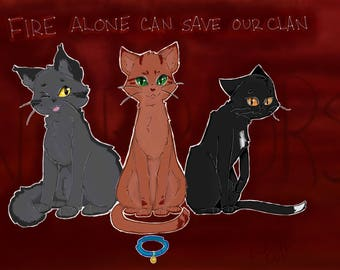 Warrior Cats Print Series