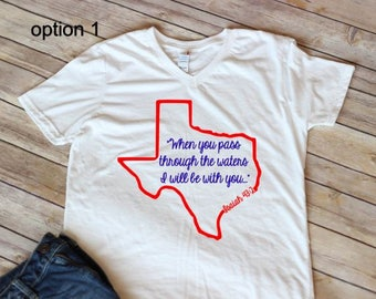 Texas Strong, Texas Shirt, Hurricane Harveyr, Texas Support