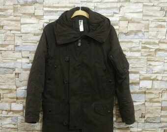Margaret Howell Jacket  MHL X Alpha N3B Parka Hooded Military Army Usn Buzz Rickson Real McCoy Nigel Cabourn Coat Small