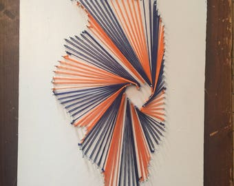 Any State String Art