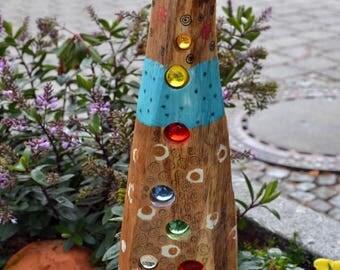 Sun catcher Flower Plug-oak