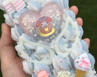 iPhone 6s Plus Decoden Phone Case Melody Bunny & Sweets READY TO SHIP
