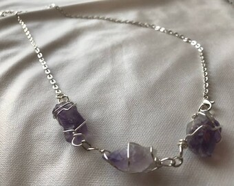 Amethyst Necklace**CLEANSED AND BLESSED