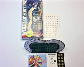 1985 Wheel Of Fortune 2nd Edition Game