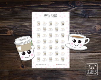 Enjoy a Cup of Tea Planner Stickers