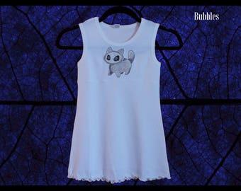Baby Girl Dress, Kawaii Toddler Dress, Summer Dress, Custom Sundress, Kids Dress, Toddler Clothing, Girls Tank Dress