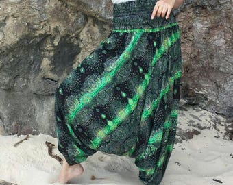 Plus Size Harem Pants,Hippie Pants,Harem Pants Women Bohemian Pants,Ropa Boho Pants,Yoga Pants,Rayon Pants,Thai Pants,Yoga Pants,Baggy Pants