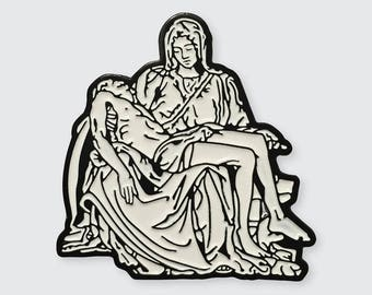 "Inspired by ""The Pieta"" by Michelangelo"