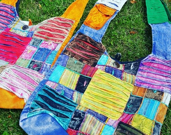 Hippie Festival Patchwork Purse