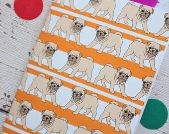 Cute Pug Notebook/Sketchbook A6
