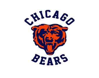 Chikago Bears cut files,  Chicago Bears SVG Files, Chicago Bears SVG Cutting Files, digital download