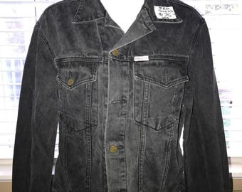 Vintage Denim Jacket - Guess 1980's Womens Size Medium - Made in the USA