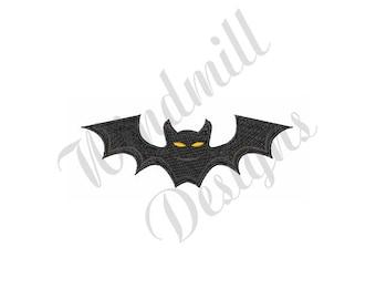 Halloween Bat - Machine Embroidery Design