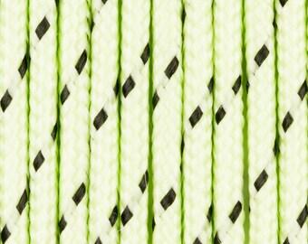 Dark green polypropylene cord by the yard