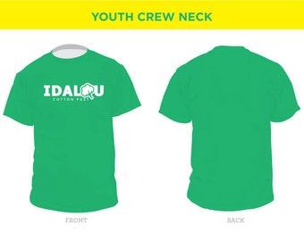 Idalou Cotton Fest T-Shirt Order: YOUTH Sizes