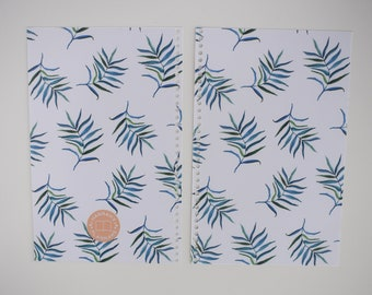 Palm Fronds Tropical Planner Cover