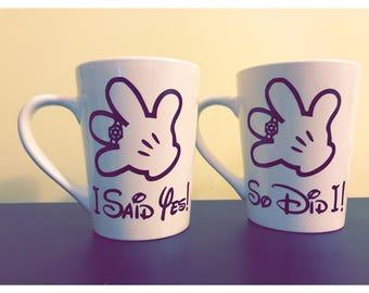 Disney Engagement Mug