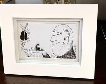 In My Hand - Original Framed Drawing
