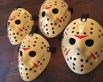 Jason Hocky mask Replicas- Custom Friday the 13th: Part 3 Jason masks are up for sale. 4 left