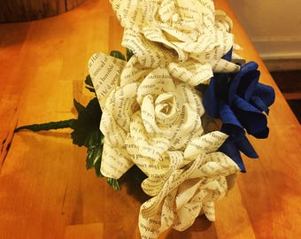 Customized Paper Flower Bouquet