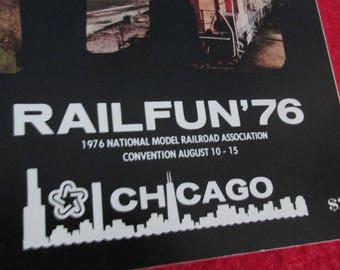 Vintage Model Railroad Convention Program 1976