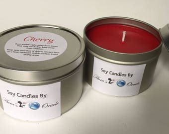 Cherry 8oz Soy Candle