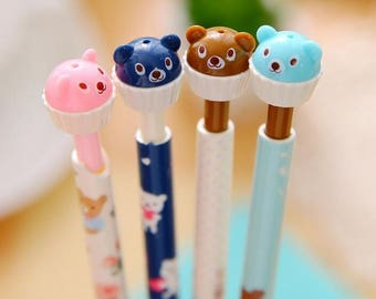 Automatic/automatic pencil pencil bear cup cake
