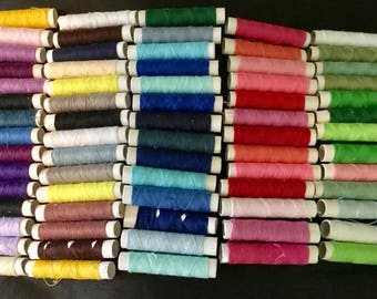 Cotton thread - 70 spools