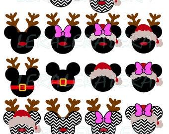 60 % OFF, Mouse Christmas Svg, Mickey Christmas Svg, Minnie Christmas SVG, Mouse Svg, Dxf, Eps, Png files, Chevron SVG, Disney christmas svg