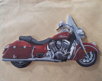 key wall scout indian CHIEFTAIN / key hook