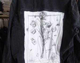 Dead Roses denim jacket