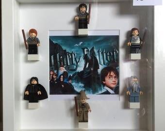 Harry Potter minifigure frame.