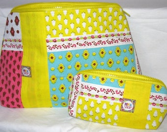 Set of 2 kits, bright colors, handmade