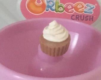 Chocolate cupcake charm