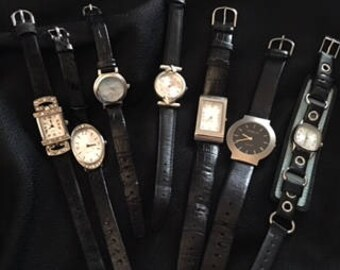 Watch Lot: Black and Silver