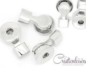Tips for DIY round silver snap Bracelet