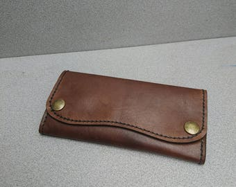 Womens leather wallet, long leather wallet , long wallet, handmade leather wallet , leather wallet, for her