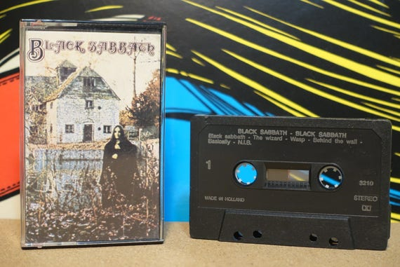 Black Sabbath (RARE Dutch Pressing) by Black Sabbath Vintage Cassette Tape