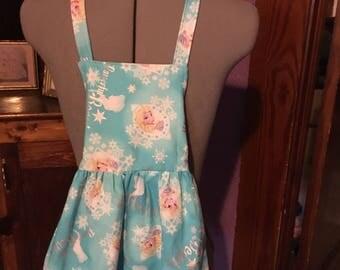 Frozen Princess Girls Apron size 3-4