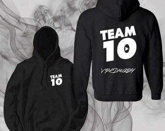 Team 10 Official Unisex Hoodie