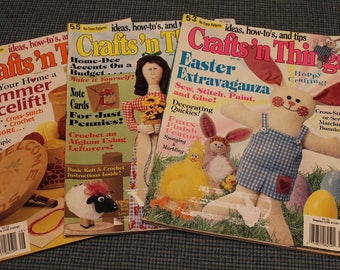 Crafts n' Things ~ Craft Magazines ~ Back Issues ~Patterns ~ Ideas ~ How to's ~ Tips ~ Easter Extravaganza ~ Collectible Classics