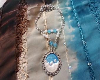 Necklace window Antarctic