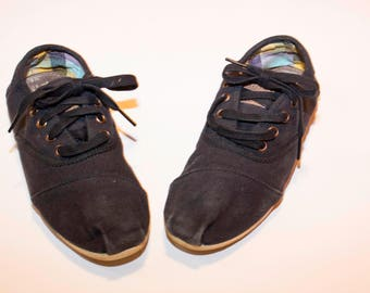 Sneakers lindy hop Toms donna nere numero 36
