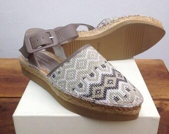 37 Slingback Sandals espadrilles sandals Espadrilles espadrilles vintage////